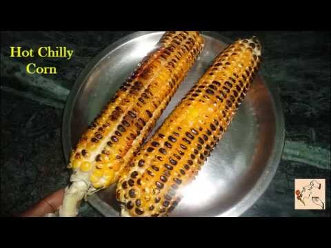 How to burn Spicy Corn using Gas Stove