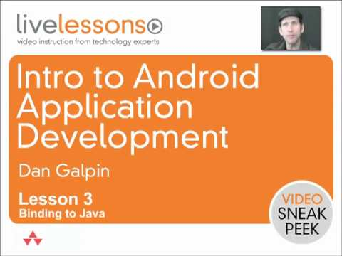 Intro to Android Application Development: Binding to Java