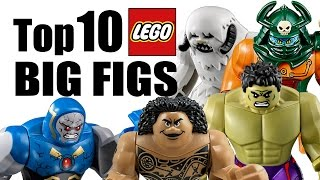 Top 10 LEGO Big Figs!