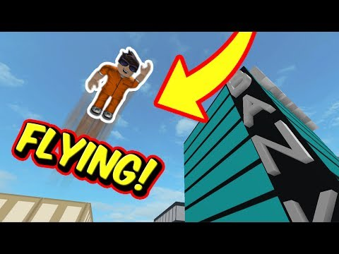 FLYING IN JAILBREAK | Glitch! | Roblox Jailbreak
