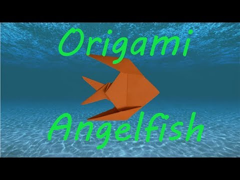 How to Fold an Origami Fish (Angelfish)