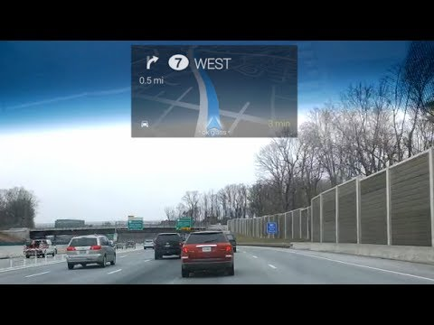 Driving Directions with Google Glass