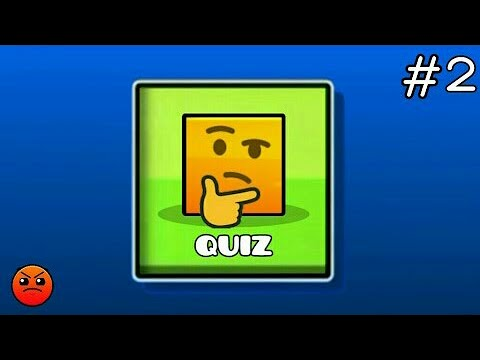 GEOMETRY DASH QUIZ #2 | Partition : What is your score ? (Hard ~ Harder)