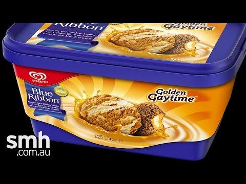 Golden Gaytime tub taste test