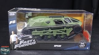 Fast & Furious 8 - Tej's Ripsaw - Jada Toys 1:24 Model Unboxing