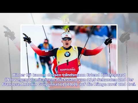 Biathlon-Sprint in Antholz: Johannes Thingnes Bö siegt erneut, Arnd Peiffer auf Rang neun