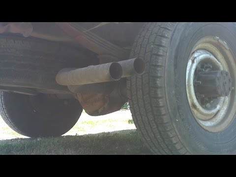 1991 Ford F-250 HD with Flowmaster 40 Series Muffler