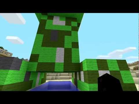 Minecraft Xbox 360 | BIG Creeper & Nyan Cat Art