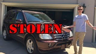 My Mercedes ML55 was STOLEN by a Really Stupid Thief.
