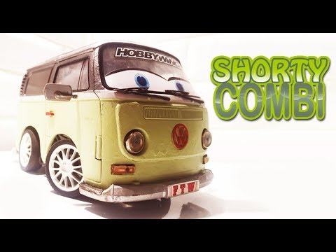 RC SHORTY COMBI VW  (build and run)