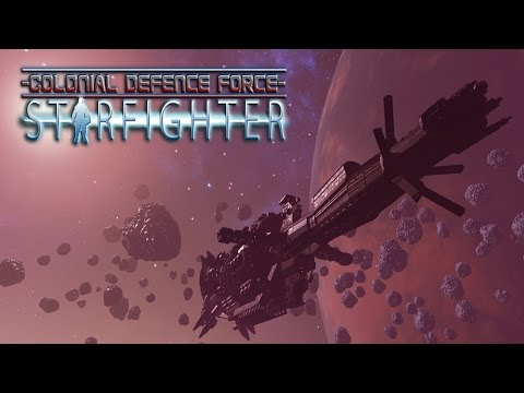 CDF Starfighter VR: Space combat simulator game for HTC Vive, Oculus Rift, and OSVR