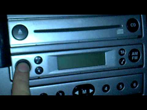 Ford Fiesta AUX MP3 su autoradio di serie 4500 rds eon