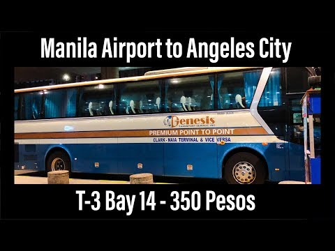 Manila Airport to Angeles City for $7 USD