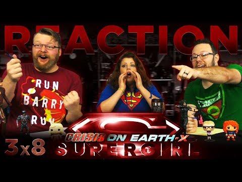 Supergirl 3x8 REACTION!!