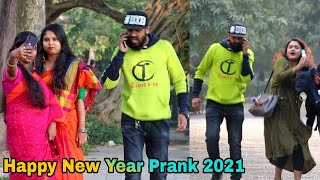 Happy New Year Prank On Girl's 2021 - Prank In India 2021   By TCI