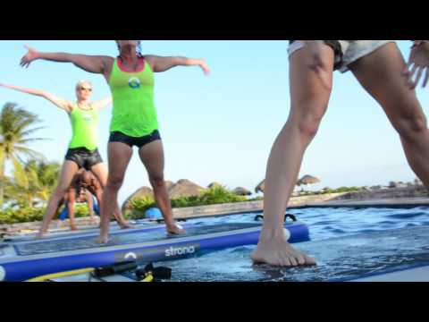 AquaStrong ~ Get Fit Fast New Total Body Workout Floating On Water