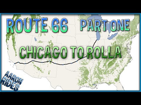 ROUTE 66 PART 1 | Chicago to Rolla | EagleRider Self Drive