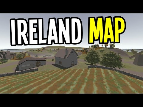 UNTURNED - New Ireland Map Server! (Ireland Map Multiplayer) - Episode 1