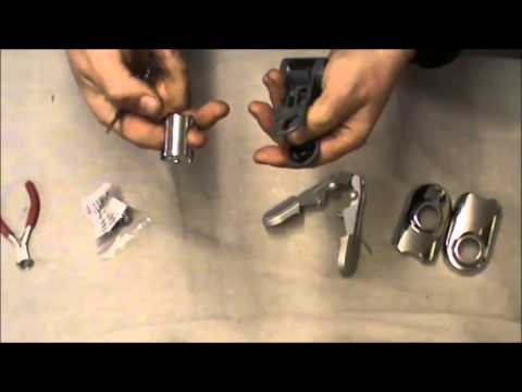 How to change an Aqualisa handset holder ratchet