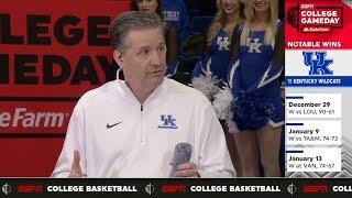 Kentucky head coach John Calipari is confident his team will take off | College GameDay | ESPN