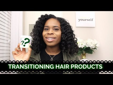 Products I Use On My TRANSITIONING HAIR!