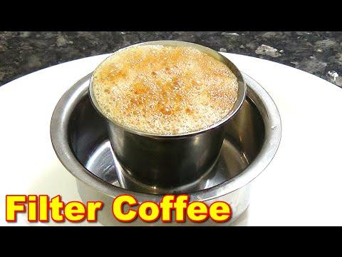 Delicious Filter Coffee Recipe in Tamil | பில்டர் காபி