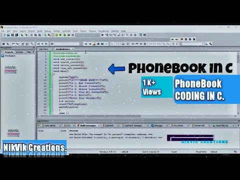 EASY AND SIMPLE PHONE BOOK APPLICATION USING C PROGRAMMING LANGUAGE