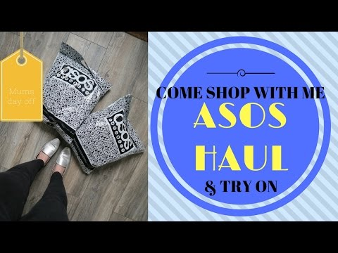 COME SHOP WITH ME - ASOS HAUL & TRY ON