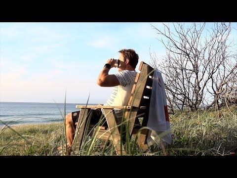 How To Turn A Pallet Into A Deck Chair