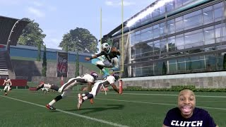 Can Cam Newton Hurdle Over Two Defenders And Then Score A 99yd Touchd