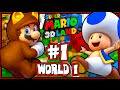 Super Mario 3d Land 1080p Part 1 World 1 100