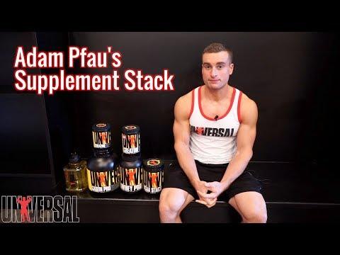 Adam Pfau's Supplement Stack