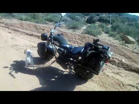 Broken throttle cable