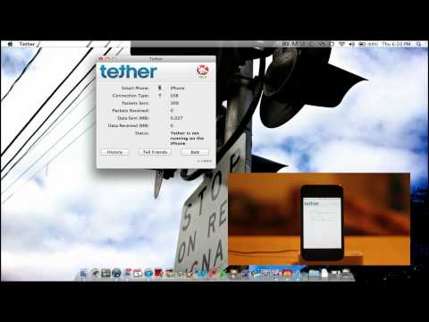 How to Tether your iPhone WITHOUT JAILBREAK