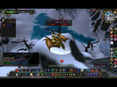 Me getting my TIme-Lost Proto Drake Mount