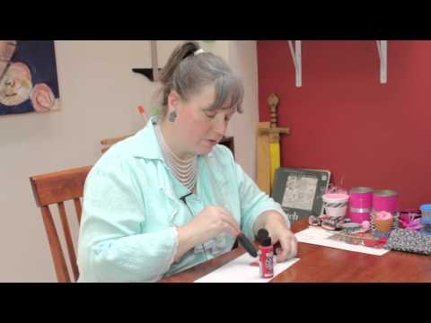 Tips on Painting Cardboard to Prevent Curling : Jewelry & Other Cool Crafts