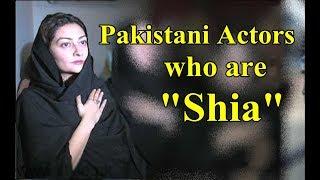 Pakistani Actors Who are SHIA.