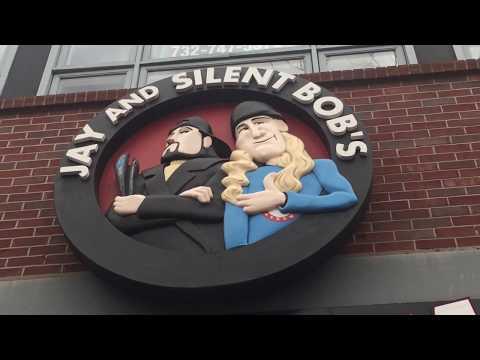 Roadtrip Vlog to Jay and Silent Bob's Secret Stash!