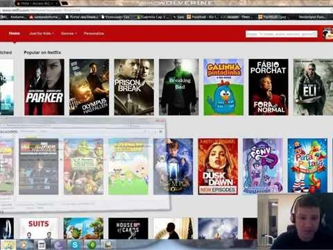 tutorial Netflix unblocker country