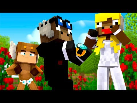 Minecraft Daycare - JEFF GETS MARRIED! (MINECRAFT ROLEPLAY)