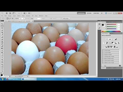 Photoshop - Change Colors - Colorize - Hue and Saturation - Selecting Objects