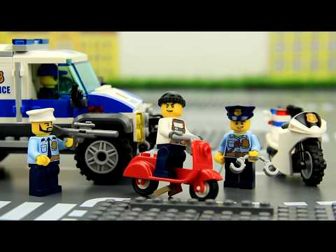 Theft of a Diamond Lego Story for Kids