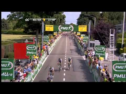 Tour de France Stage 2 highlights (courtesy: ASO)