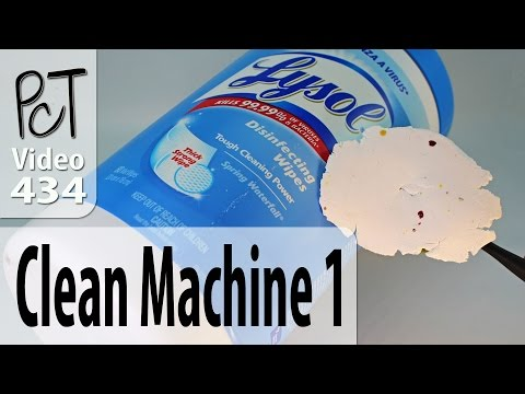Cleaning Polymer Clay Pasta Machines Tip 1 Baby Wipes