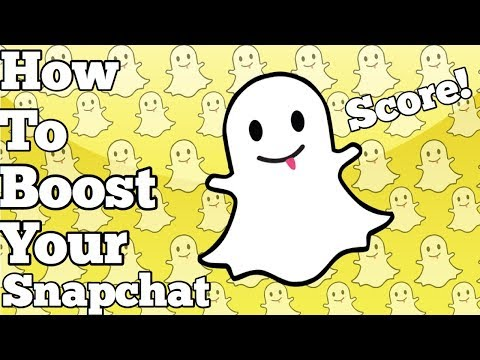 How to BOOST your Snapchat Score INSTANTLY!