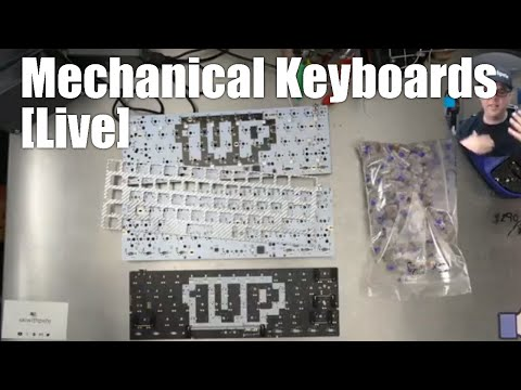 Live Mechanical Keyboard kit build - 3x Zealio 60% universal (part 2)