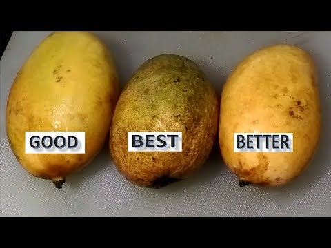How to Buy a Perfect Mango || How to Choose a tasty Mango || How To Pick The Perfect Mango