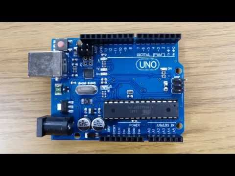 Installing Arduino Software on WIndows 10 and running your first sketch