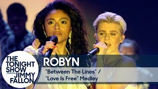 Robyn:Between the Lines/Love Is Free