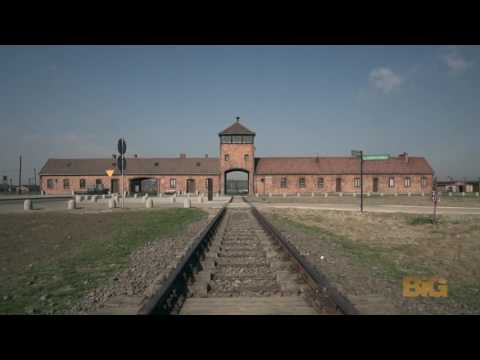 A drone just flew over Auschwitz and captured something incredibly powerful